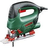Bosch 06033A0100 PST 800-PEL Seghetto, 530 W, 80 mm, 500 – 3.000 corse/min, Verde/Nero