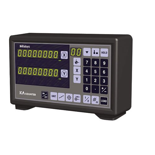 MITUTOYO Digital Readout Counters - NUMBER OF AXIS: 3-AXIS DRO TYPE OF READING: Inch/Meter Resolution : .00005''.0001''.0002''.0005'' DATA OUTPUT: RS232