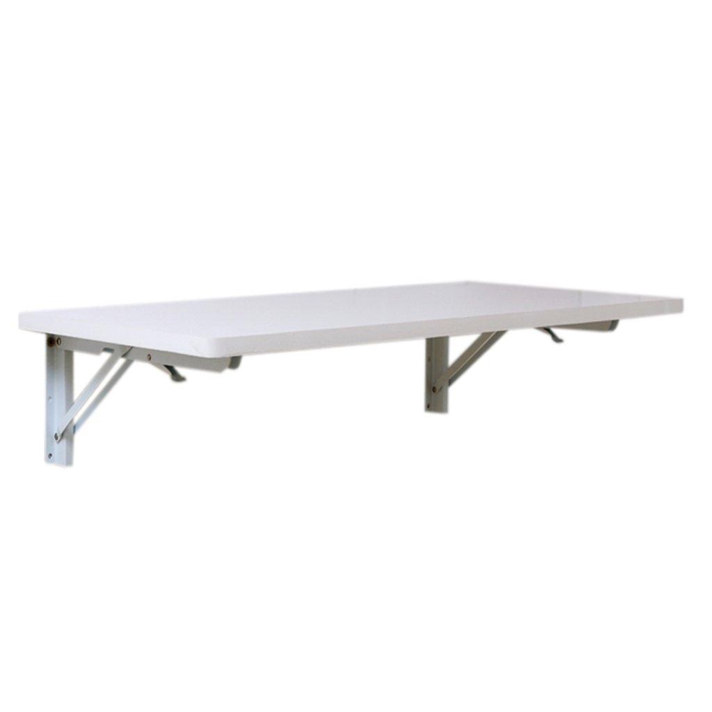 壁掛け式折り畳みテーブル白い密度のボードのダイニングテーブルの壁掛けコンピュータデスクのテーブルのサイズのオプション (サイズ さいず : 60cm*40cm) B07CDDGZBW 60cm*40cm  60cm*40cm