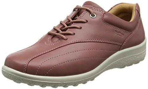 Mujer Tone Oxford Zapatos Salmon Rosa Cordones Hotter para de IOnY1xdwHq