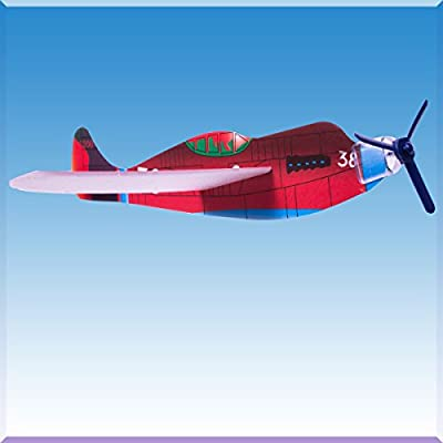 Windy City Novelties Flying Airplane Toy for Kids - Outdoor Glider Plane Indoor / Outdoor Game (Set of 48): Toys & Games