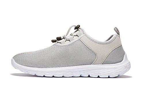 VSDANLIN Zapatos Planos con Cordones Hombre, Color Negro, Talla 41