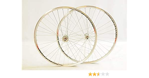 Par 700 C X13 (622 – 13) bicicleta Fixie Flip Flop ruedas, bordes ...