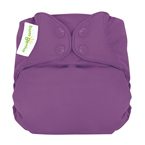 - bumGenius Elemental 3.0 All-in-One One-Size Cloth Diaper with Organic Cotton (Jelly)