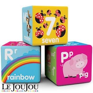 Brand New Le Jou Jou Baby Soft Building Blocks Amazon Co