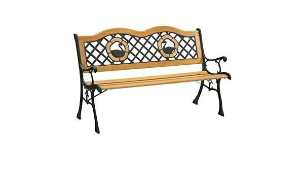 Awesome Amazon Com Ak Energy Outdoor Garden Bench Park Lawn Wooden Andrewgaddart Wooden Chair Designs For Living Room Andrewgaddartcom