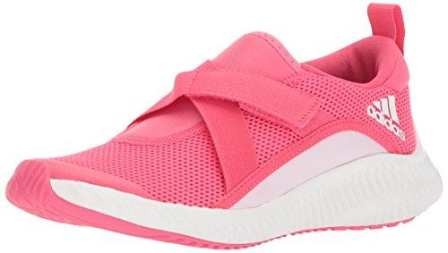 adidas Girls' Fortarun, Chalk Blue/Aero Pink/White, 10.5 M US Little Kid by adidas (Image #1)