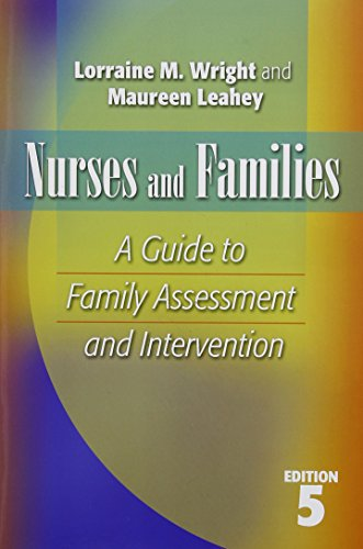 Book cover from NURSES AND FAMILIES: A Guide to Family Assessment and Intervention by Lorraine M. Wright RN  PhD