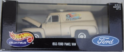 Hot Wheels Collectibles 1955 Ford Panel Van 1:43 Scale Diecast (1955 Ford Panel Truck)