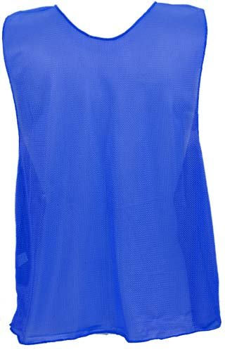 - Youth Blue Micro Mesh Team Vest - Set Of 12