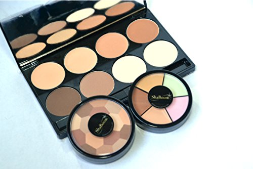 Professional Red Carpet-Ready Corrective & Contour Palette Kit - High-Pigment, Defining Make-up Set by ShaBoom Beauty -  ShaBoom Products, RC-CONTOUR