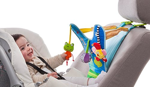 Taf Toys Baby Car Seat Toy Keeps Baby Happy and Busy While in Car by Taf Toys