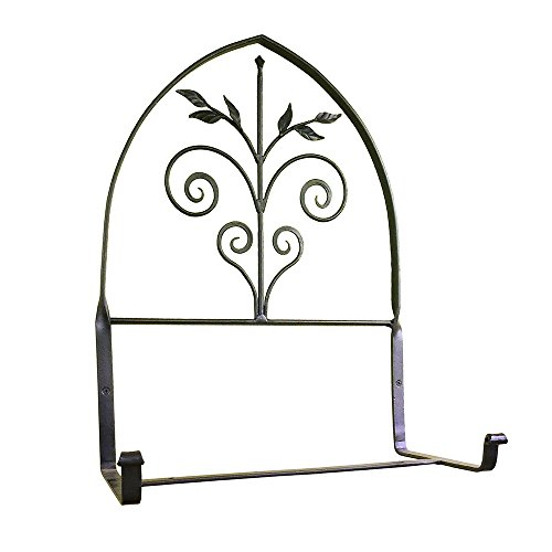 Achla Designs Wrought Iron Posy Window Flower Box Bracket