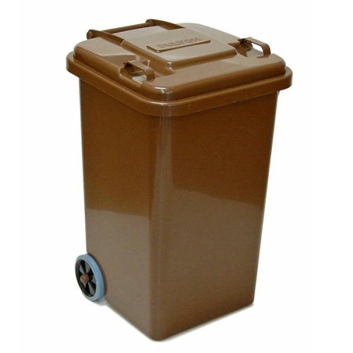 PLASTIC TRASH CAN 65L(ブラウン) B0018WMVVA