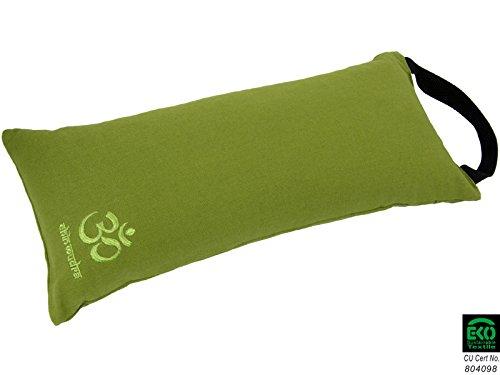 Chin Mudra Sandsack Sandbag 100% Baumwolle Bio–Lieferung ohne Sable-vert