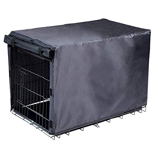 Avanigo Dog Crate Cover for Large Dogs-Crate Cover for Wire Crates (36-inch)
