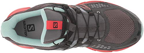 Red Black 3 Mission Negro Trail de X Running Salomon Calzado para Poppy Mujer Magnet W qAn67xTwa