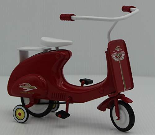 - 1966 Garton Super sonda die cast Metal Pedal Scooter Hallmark Kiddie Car Classic Sidewalk Cruisers Collection
