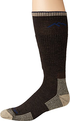 Darn Tough Vermont Merino Wool Boot Cushion Sock (Chocolate, X-Large)