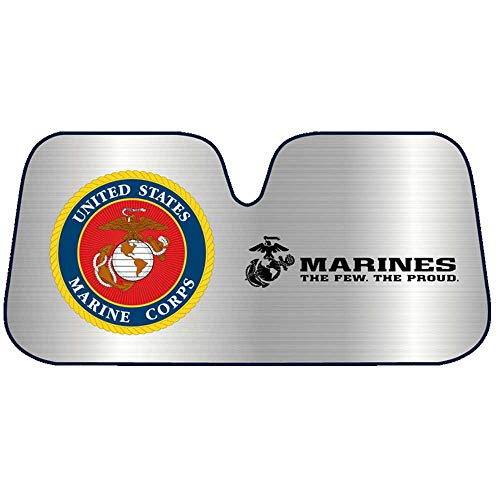JWM USMC Marine Corps Auto Sun Shade