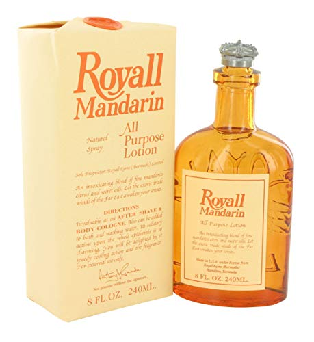 - Royall Mandarin By ROYALL FRAGRANCES FOR MEN 8 oz All Purpose Lotion / Cologne