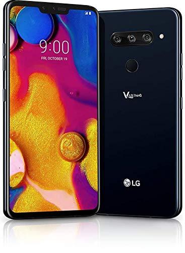 LG V40 ThinQ 64GB Aurora Black - Sprint(Renewed)