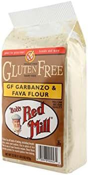 Flours & Meals: Bob's Red Mill Gluten Free Garbanzo & Fava Flour