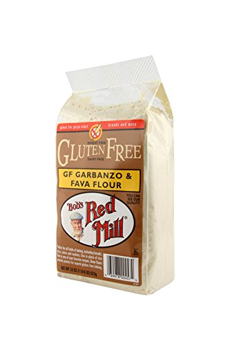 Bob's Red Mill Garbanzo Fava Flour, Gluten-Free, 22 Ounce  (Pack of 4)