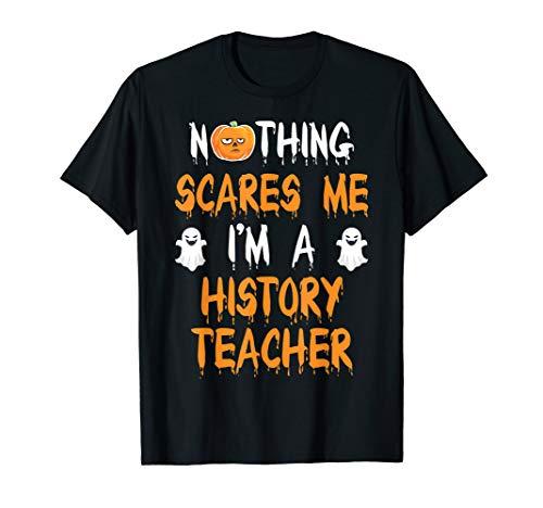 HISTORY TEACHER Halloween Costume Gift T-Shirt -