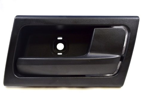 PT Auto Warehouse FO-2363A-RH - Inside Interior Inner Door Handle, Black - Passenger Side Front