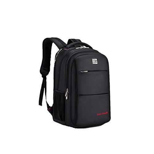 """Evay 35L 15,6"""" Plus portátil empresarial de mochilas para damas impermeable viajes negocio mochilas portátil bolsas hombres con desgarro resistente diseño viajes bolsos mochila se adapta hasta 15.6 pu Negro"""
