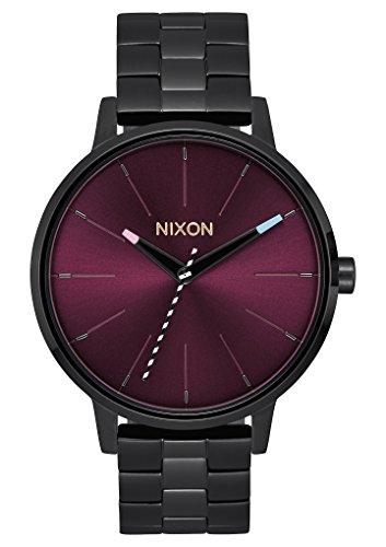 Nixon Women's 'Kensington' Quartz Stainless Steel Casual Watch, Color:Black (Model: A099192-00)