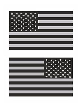 Amazoncom Subdued American US Flag Mirrored Vinyl Sticker - Motorcycle helmet decals militarysubdued american flag sticker military tactical usa helmet decal