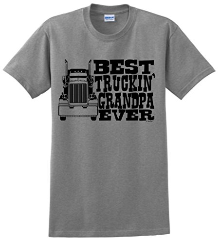 Grandpa Truckin Truck Driver T Shirt
