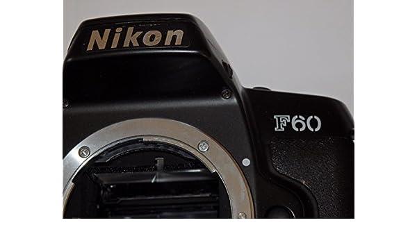 Camera en negro – Nikon F 60 F60 – Cámara réflex analógica – Sólo ...