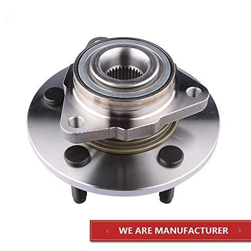 MOSTPLUS Front Wheel Hub Bearing Assembly 515072 for Dodge Ram 1500 4WD or RWD