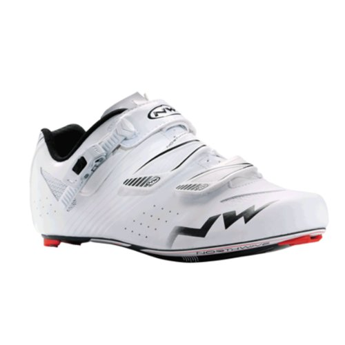 Northwave, Torpedo SRS, Road shoes, Mens, White, 41
