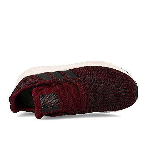 adidas Swift Run C, Zapatillas de Gimnasia Unisex Niños Rojo (Granat / Negbas / Ftwbla 000)