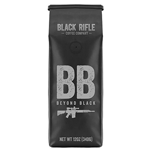 Black Rifle Coffee Company, Beyond Black Coffee, Dark Roast, Whole Bean 12 oz Bag