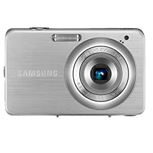 """SAMSUNG DIGITAL CAMERA ST30 - Silver - 10MP / 3X Optical Zoom / 2.4"""" LCD / Extra Compact - Credit card Size (ST30B)"""