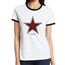 World Of Tanks Russian Star Comfortable Teeshirts Woman