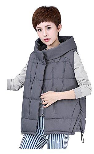 にはまってマーガレットミッチェル自伝Orolay レディース ベスト 抗寒 袖なし ノースリーブ 無地 厚手 秋 冬 ファスナー付き フード付き 保温 ショート 短い
