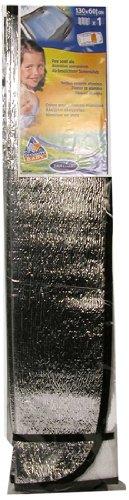 Carlinea 463566 Parabrezza Parasole in Alluminio Rettangolare