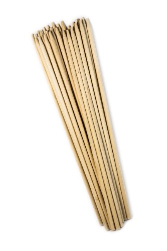 Perfect Stix Wooden Semi Pointed Corn Dog / Concession Skewer Sticks 10'' Length ( pack of 2500) by Perfect Stix