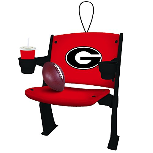 University of Georgia Bulldogs Football Stadium Chair Christmas Tree Ornament Holiday