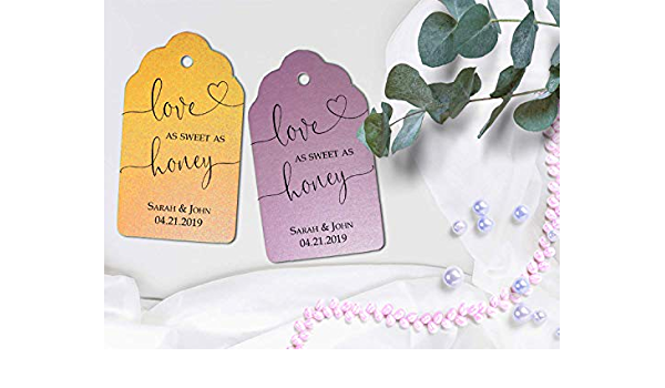 Love is Sweet Tag Dessert Wedding Favor LARGE SIZE Party Favor Sweet Favor Tags Cupcake Favor Tags Wedding Favor Tags