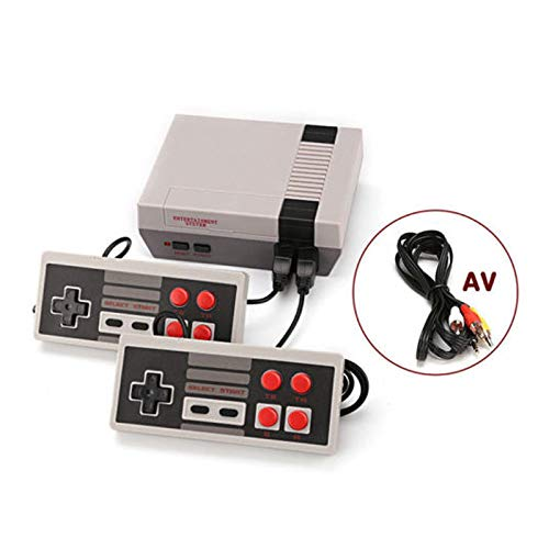 Hangyuan Mini Video Game Console Super NES Classic Games Built in 620 Games AV Out to TV for Family Recreation Dual Players 4-Button by Hangyuan (Image #6)