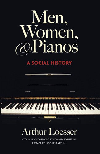 Men, Women and Pianos: A Social History (Dover Books on Music) (St Cloud Dominoes)