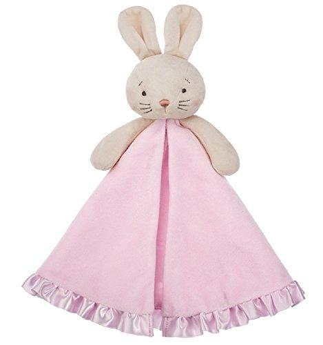 G Ganz Baby Girl Pink Ballerina Bunny 13 inches Mini Blankie Blanket - Bunny Velour Blanket