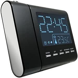Reflexion CLR2645P - Radiodespertador (1 W, pantalla LCD, 50 Hz ...